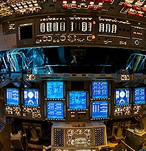 Spectacular Space Shuttle Flight Decks [10 Photos]