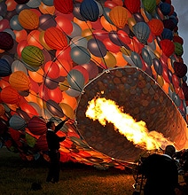 Disney's Up Inspired Hot Air Balloon Stunt…I Wanna Ride In That