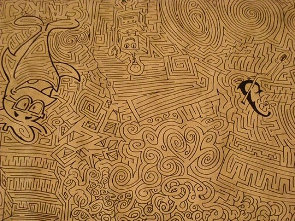 The World's Largest Hand-Drawn Maze…Almost