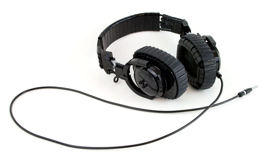 Amazing LEGO Headphones Look Great But Don't Make A Sound
