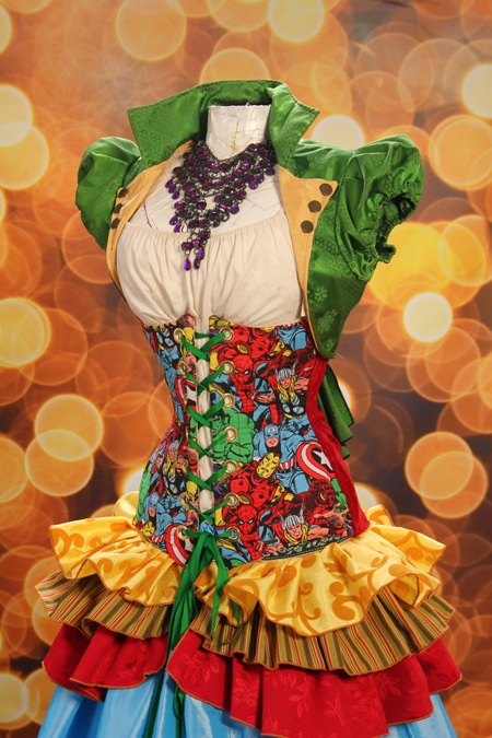 Fangirl Fashion Alert: 8 Comic Book Themed Corsets You Can't Miss
