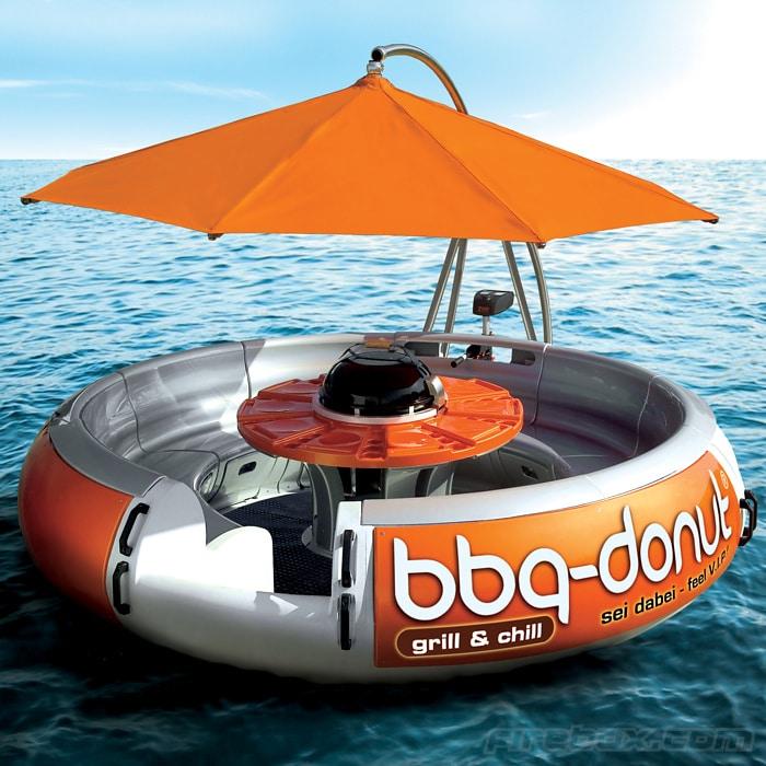 bbq-boat-donut-concept