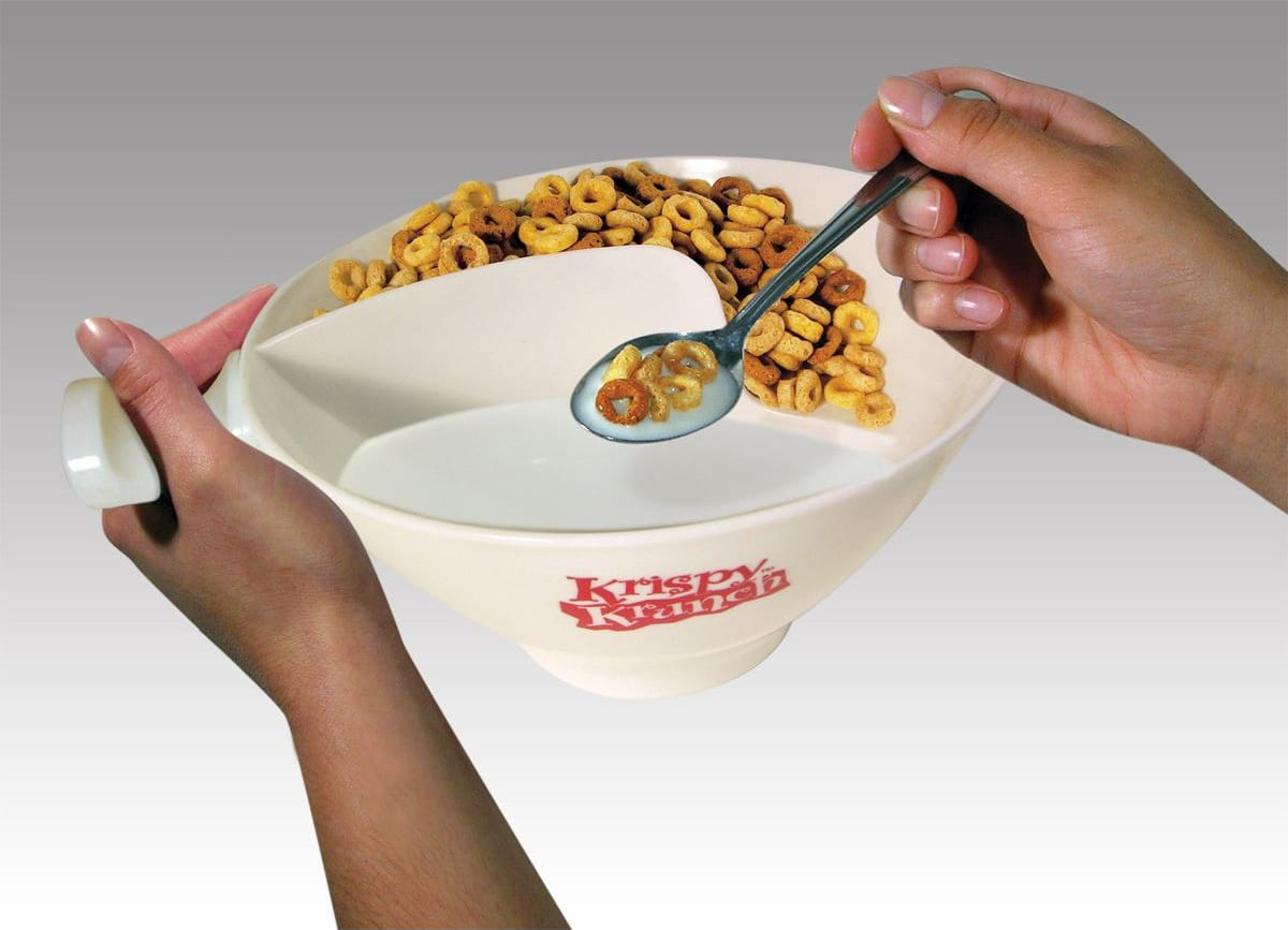 Breakfast Bowl Which Keeps You From Ever Eating Soggy Cereal Again