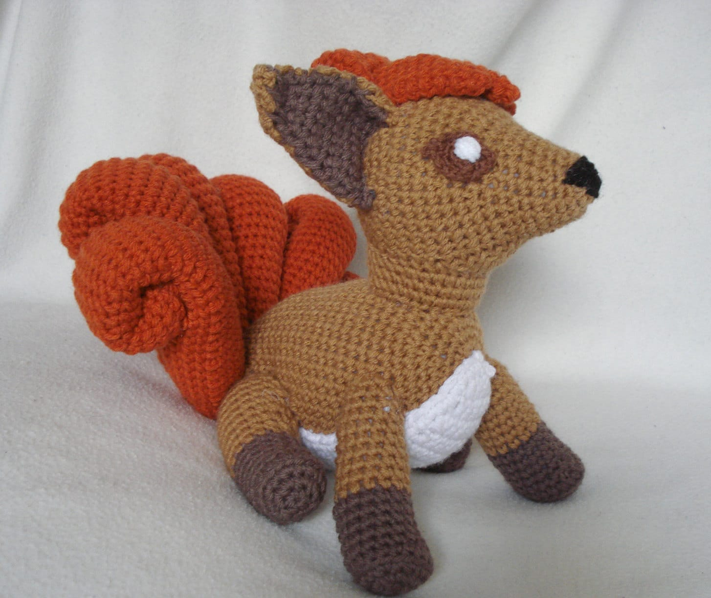 Crochet Patterns For Pokemon : Crocheted Plush Pokemon Characters With Insane Detail