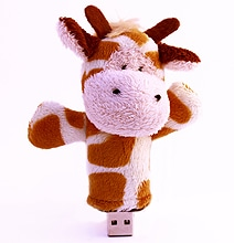 FlashPals: Data Storage Turned Into Cuddly Plush Companions
