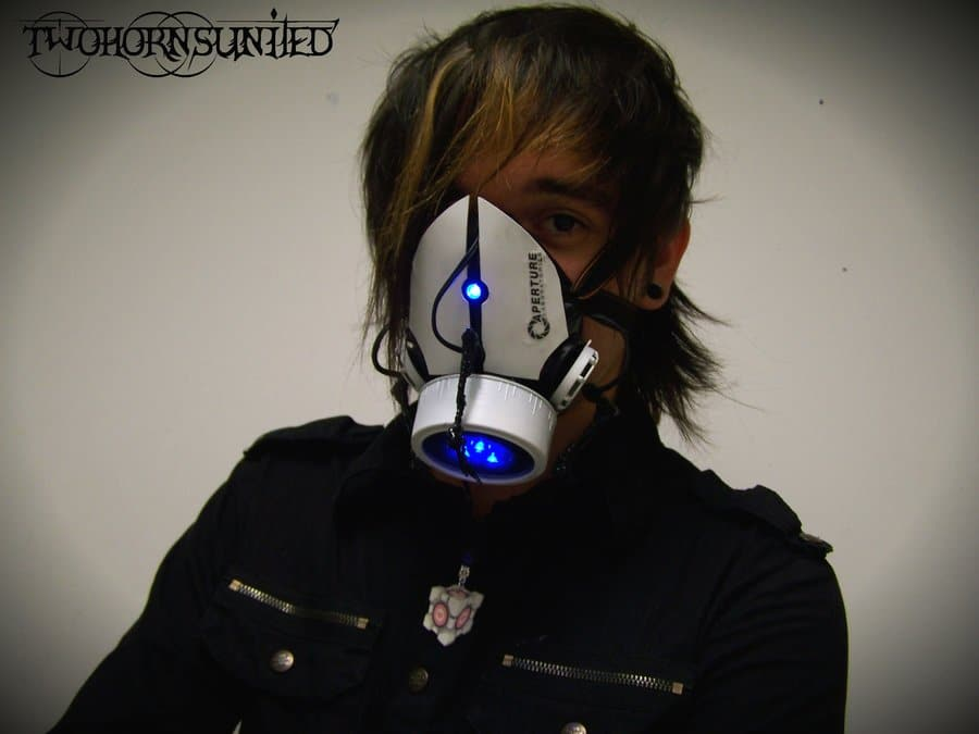 Custom Portal Gas Masks Take Your Breathing To The Future
