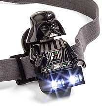 Darth Vader LEGO Headlamp Illuminates Your Path