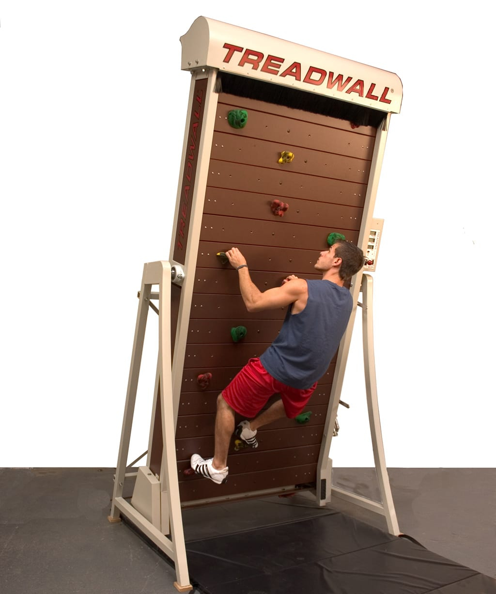 Game-Changing Treadmill Goes Vertical With Treadwall