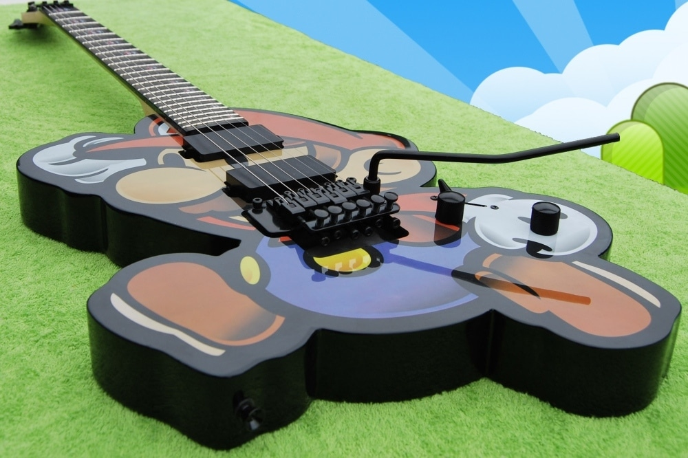 Mario Guitar Is Another Flawless Custom Build