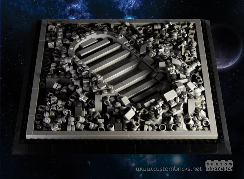 Moon Footprint LEGO Build Honors Neil Armstrong