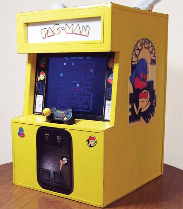 Playable Game Cosplay Pac-Man Costume Build