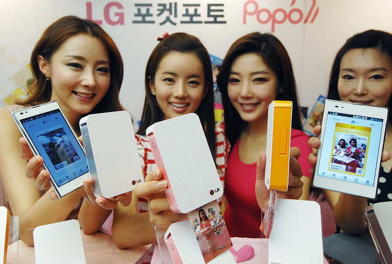 Pocket Printer For Photographers Now A Reality From LG