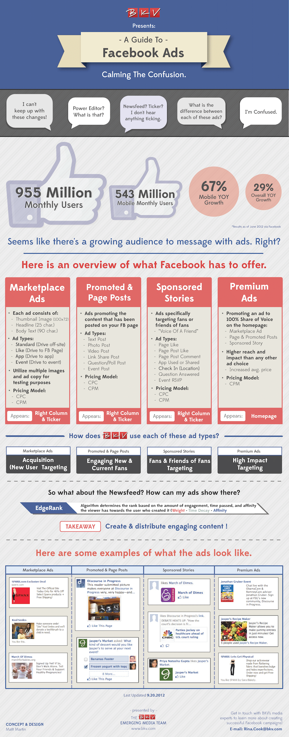 Simple Guide To Advanced Facebook Advertising [Infographic]