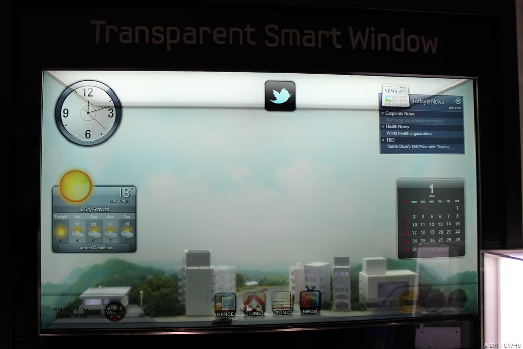Smart Window From Samsung Will Reinvent Your World View