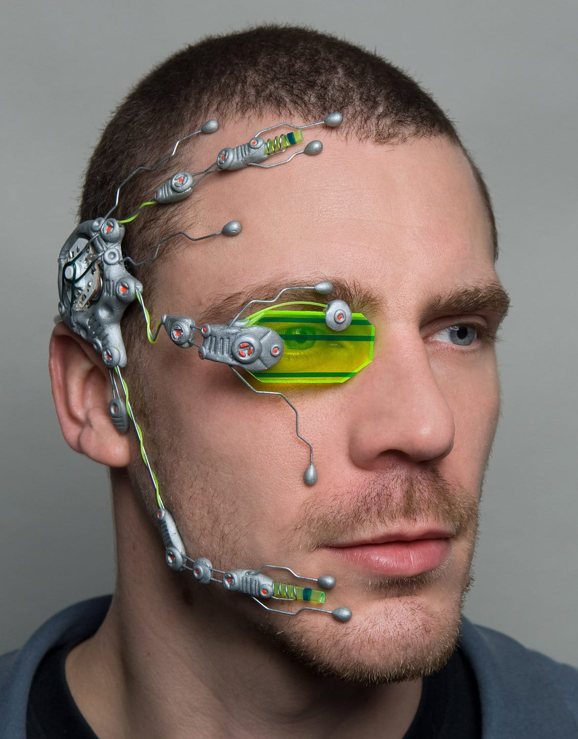 Cybernetic Head Systems Available (Time Travel Not Included)