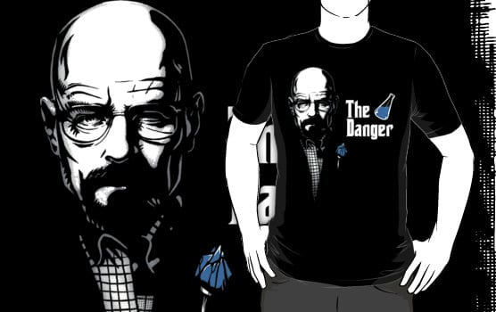 The Danger RedBubble TShirt