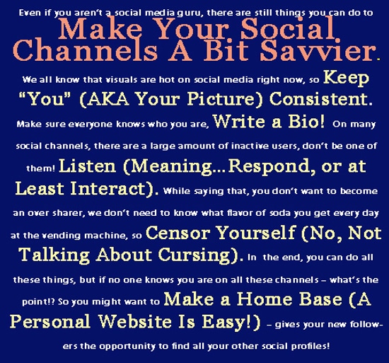 5 Ways To Look Like You're Social Media Savvy [Chart]