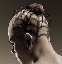 creative-hairstyles-spider-lizard-cut