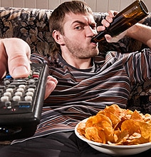 The Couch Potato Is An Endangered Species [Infographic]