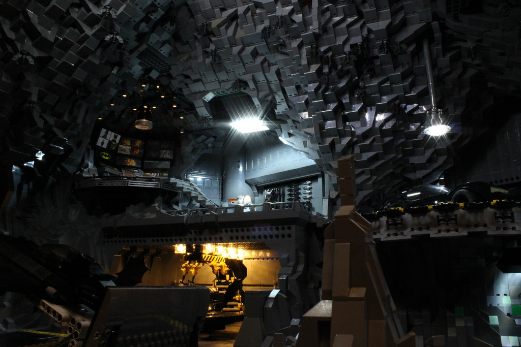 Epic LEGO Batcave Created Out Of 20,000 LEGO Pieces