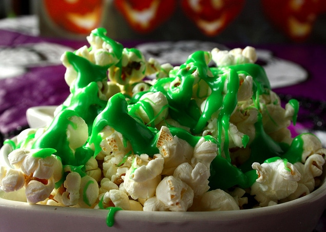 Ghostbusters Inspired Ectoplasm Green Slime Popcorn