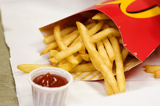 mcdonalds french fries delicious