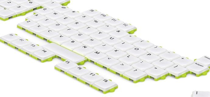 Modular Keyboard Will Have You Arrange Your Keys As You See Fit
