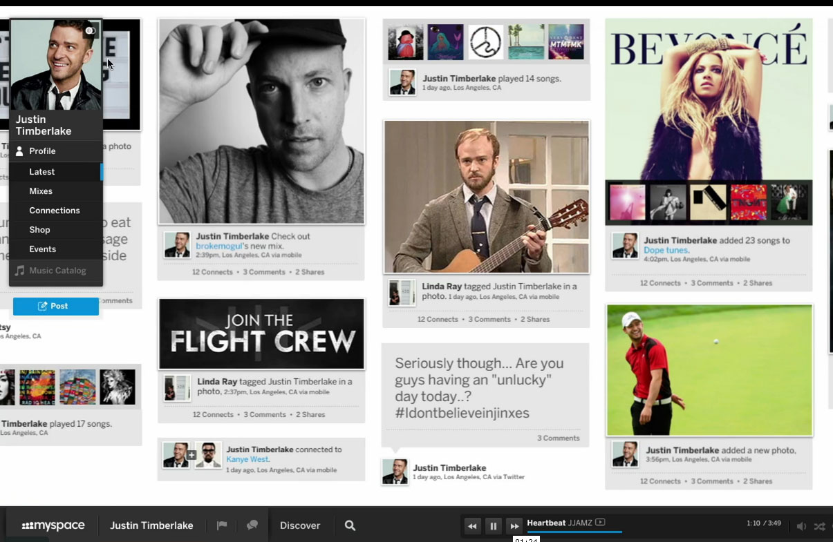 The New Myspace: Will The Relaunch & Redesign Save The Site?