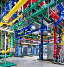 Never Before Seen Images Of Google's Data Centers