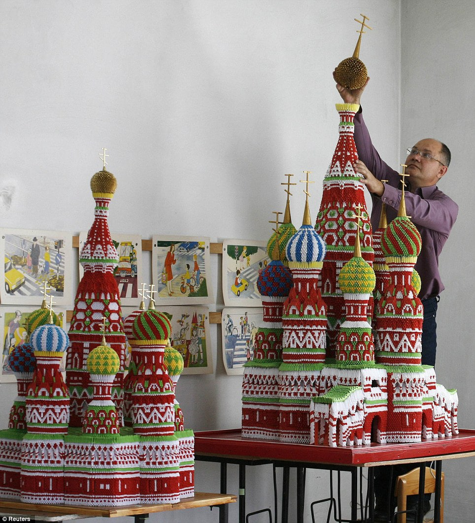 Extreme Paper Folding: Origami Models Of Russian Landmarks
