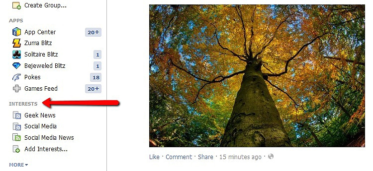 How To: Use Facebook Interests To Enhance Your Facebook Experience