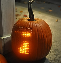 Extreme Pumpkin Mod: Playable, Electronic Tetris Inside A Pumpkin