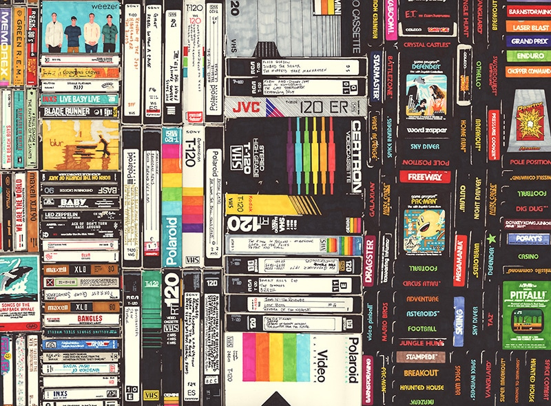 vhs-tapes-movies-sharpie-drawings