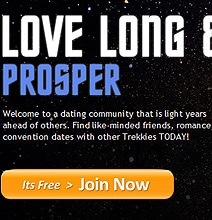 Trekkies Rejoice: Now There's An Online Dating Site Just For You