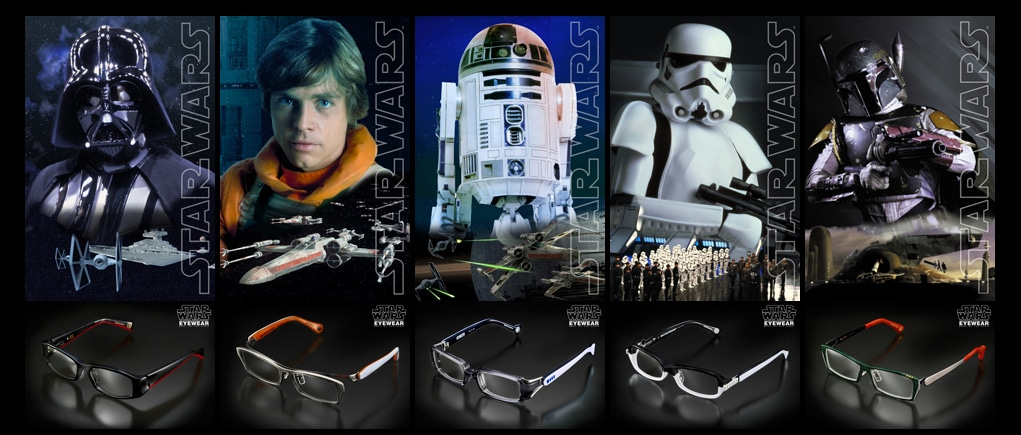 Geek Eyewear: Star Wars Glasses Add A New Level To Geek Fashion
