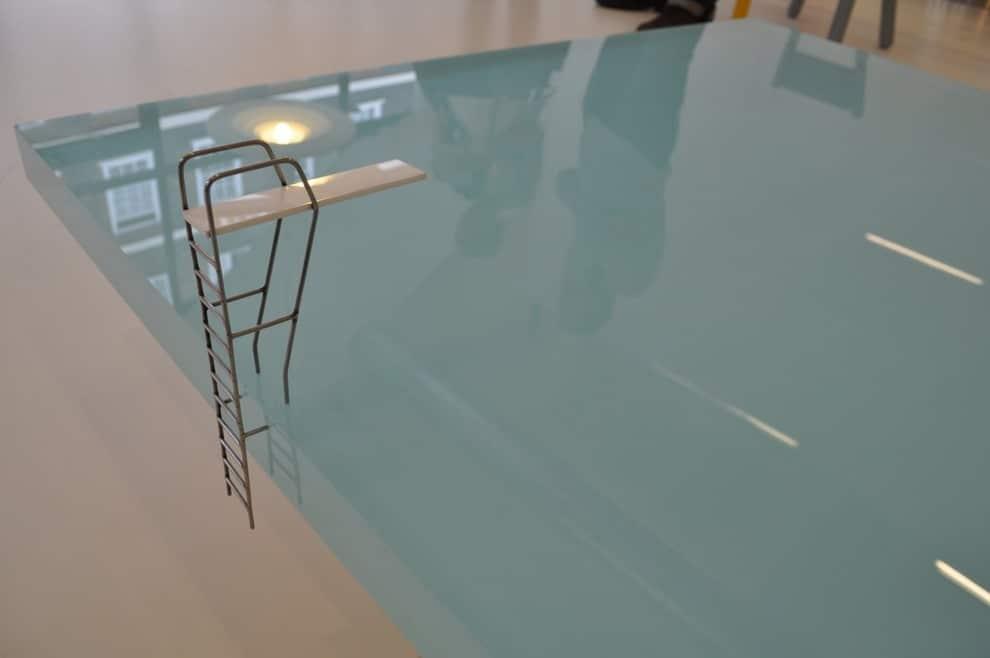 The Sleek & Stunning Swimming Pool Coffee Table Design