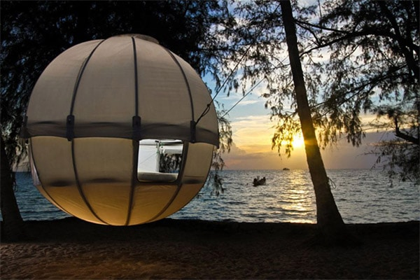 Tree Tent Takes You High & Above Your Dreams