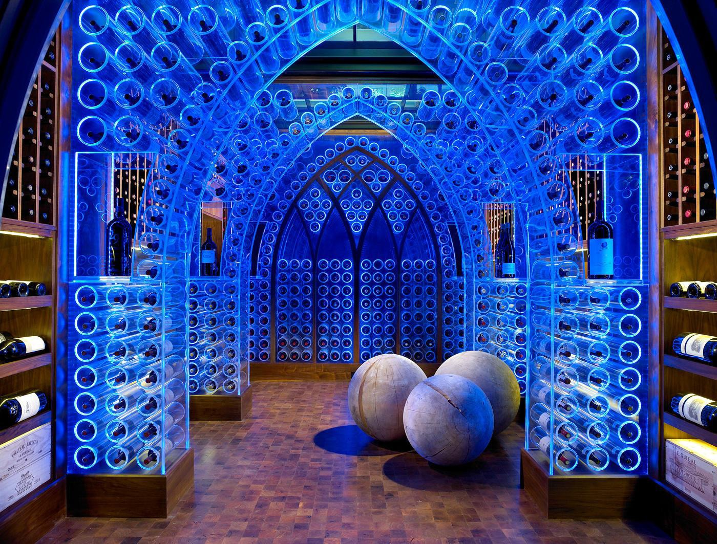 The most inspiring wine cellar design ever for Wine cellars designs