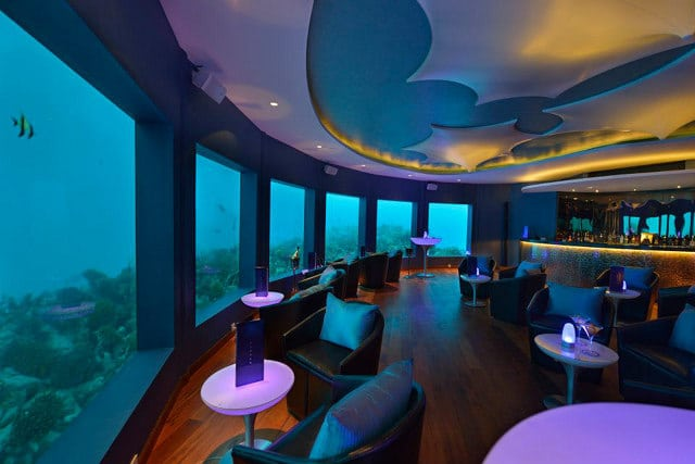 World's First Underwater Bar & Club For The Non Seasick