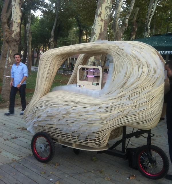 3D Food Printing Cart