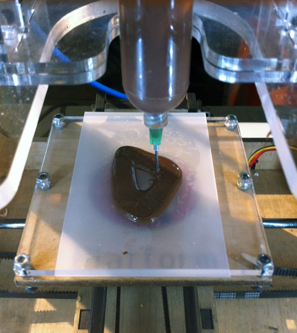 3D Food Printing Chocolate