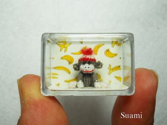 10 World's Most Magnificent Micro Handmade Crocheted Creatures
