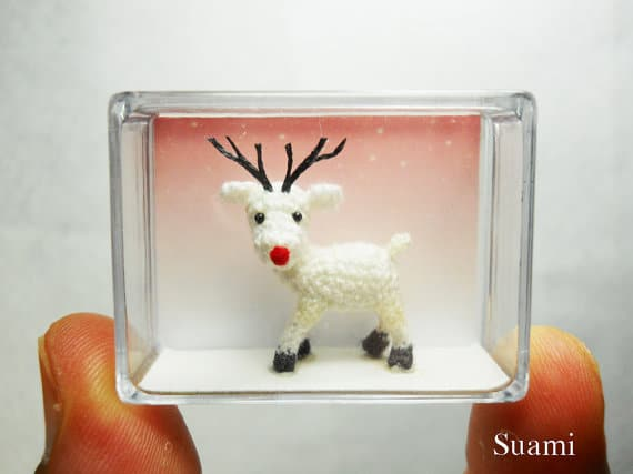 handmade-crocheted-white-reindeer