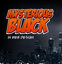 Popular Online Colors: The Mystery Behind Black [Infographic]