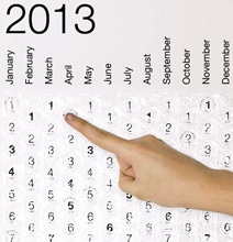 Bubble Wrap Calendar For The Incurably Stressed