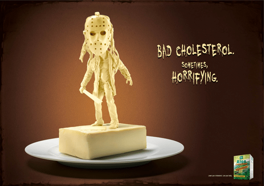 Movie Villains Become Butter Bad Guy Sculptures Fighting Cholesterol