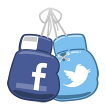 Facebook vs Twitter: Content Visibility Compared [Infographic]