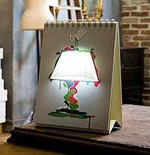 USB Lamp For Artists: Let Your Sketchbook Light The Way