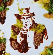 Food Art: Uncle Sam & Mt. Rushmore Like You've Never Seen Before