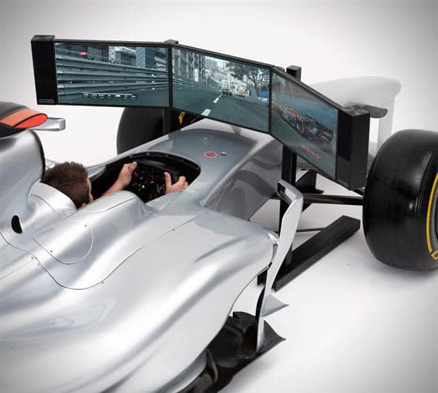 formula-1-simulator-car